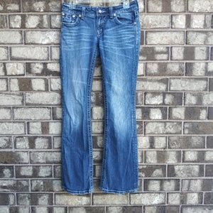 Miss Me size 27 boot jeans